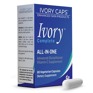 Ivory Complete ALL-IN-ONE Advanced Glutathione/Vitamin C Supplement